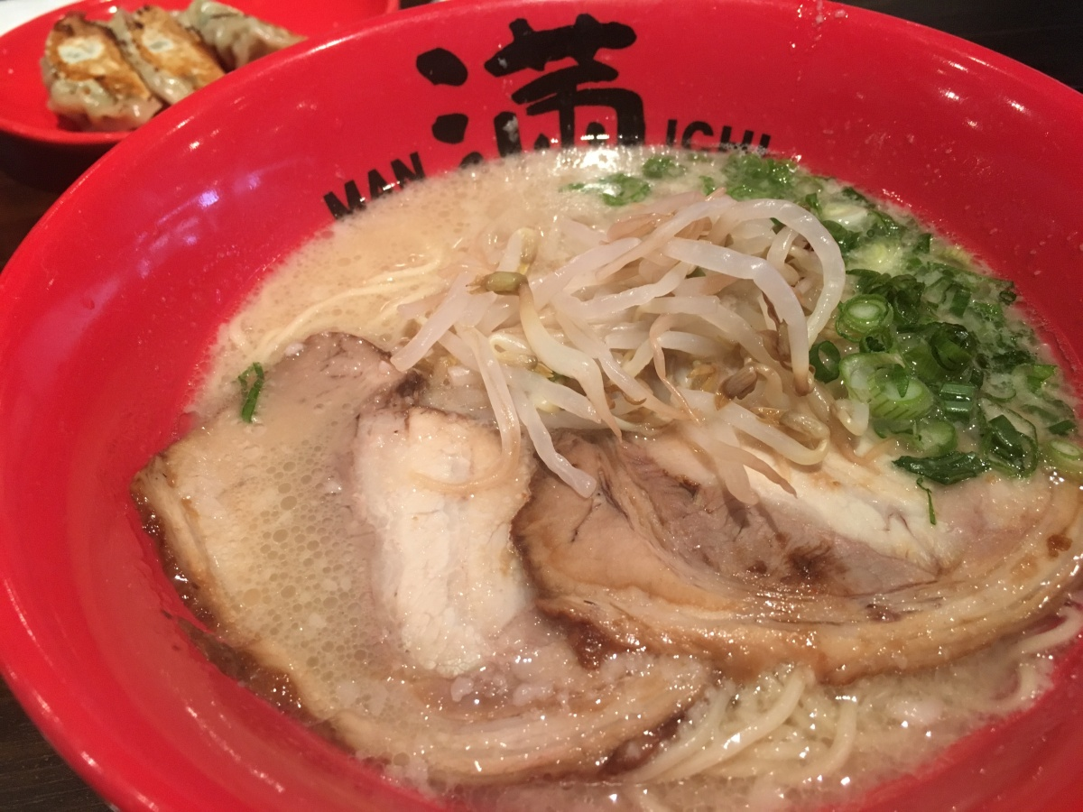 manichi ramen little tokyo downtown los angeles gyoza japanese food